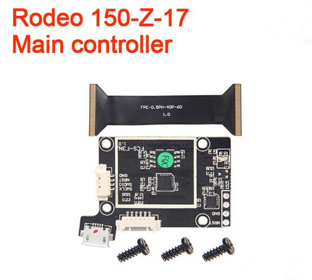 Original Walkera Rodeo 150-Z-17 Flight Control Rodeo 150 spare parts for Helicopter Drone original walkera rodeo 150 spare parts 150 z 20 power board