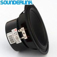 2PCS LOT Audio Labs Top End 5 25 Linen Cone Bass Driver Woofer Subwoofer Transducer Speaker