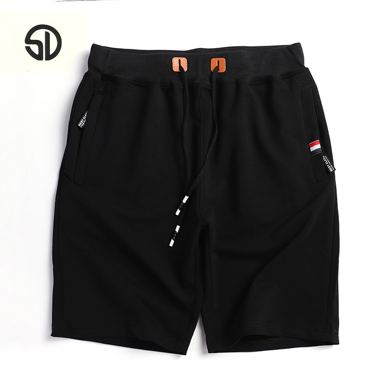 Summer Brand 2018 Casual Elastic Waist Breathable Beach Shorts Mens Knee Length Quick Drying Jogger Board Shorts Homme Masculino