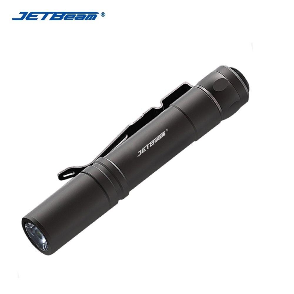 New Jetbeam SE-A01 Cree XP-G 130 Lumens LED Flashlight Torch AAA, 3A