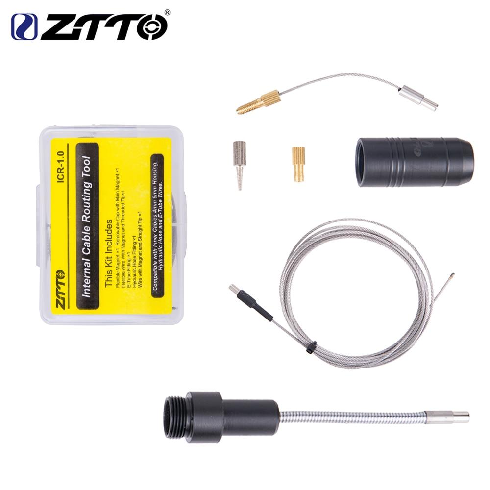 ZTTO strumento DI instradamento cavi interni per cambio telaio bicicletta tubo flessibile idraulico cambio cavo interno DI e-tube 2 magnete