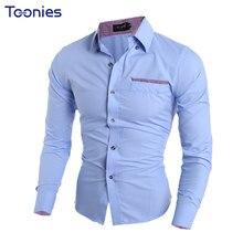 TOONIES Men Dress Sh…