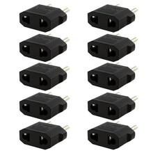 10 шт. США/Австралия в ЕС Путешествия конвертер AC мощность Plug мощность зарядное устройство адаптер Высокое качество