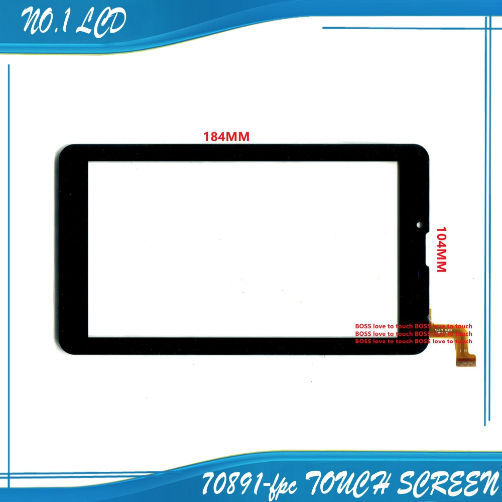 Free shipping cheap 7inch touchscreen touch panel digitizer glass for tablet MGLCTP-70838 70891-FPC 1pcs free shipping sc3075b touchscreen
