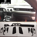 Mustang Car-Styling Carbon Fiber Auto Car Interior Decoration Trim for Ford Mustang 2015