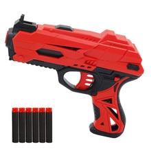 Ручной мягкий пулемет костюм для Nerf пули EVA пустотелые пули игрушечный пистолет Дротика бластер игрушки для игр на открытом воздухе игрушки для детей