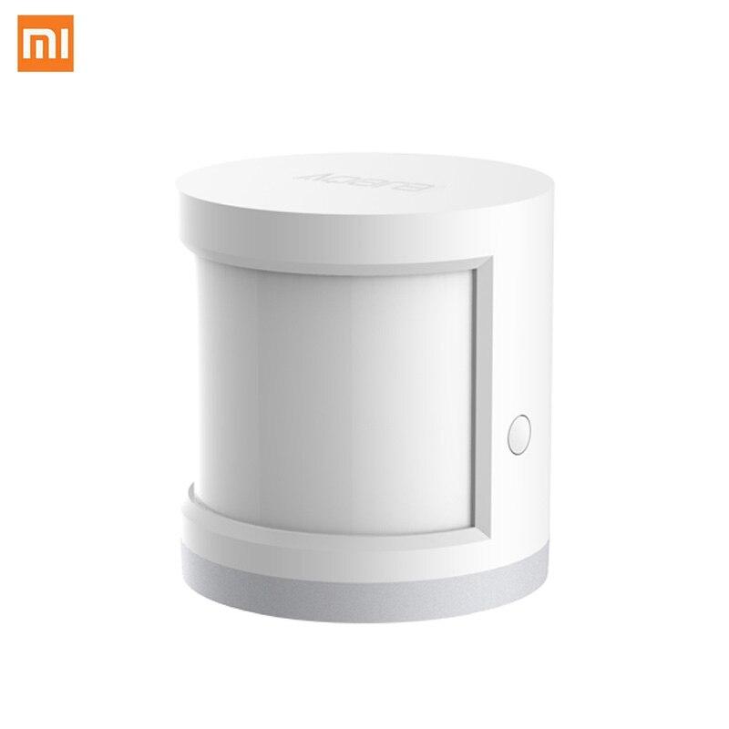Xiaomi sensor de corpo humano inteligente sensor de movimento do corpo zigbee conexão suporte mihome app via android e ios