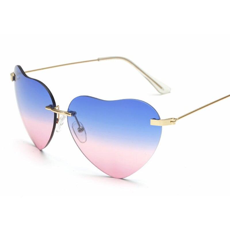 herz neueste einzigartige frauen sonnenbrille quadratisch brille ...