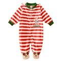 Macacão de lã Bebê Dos Desenhos Animados Marca a Roupa Do Bebê Recém-nascido Do Bebê Das Meninas Dos Meninos Manga Comprida Pagado Macacão Infantil Pijamas Do Bebê Do Produto
