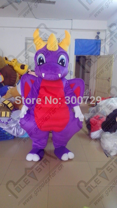 export high quality cartoon MASCOT COSTUMES red belly dragon mascot costumes