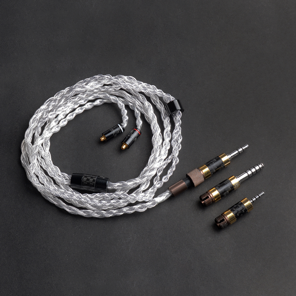 OKCSC Le GÉNIAL Plug MMCX Interface Mise À Niveau Câbles 2.5mm/4.4mm Équilibre Jack 3.5mm Pur Argent OCC or Plaqué DIY HiFi Outils