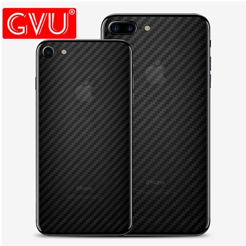 GVU Mobile Téléphone Film Pour iPhone X Explosion-preuve Retour Film Souple Pour iPhone 6 6 s 7 8 Plus X 10 (pas Écran Protecteur En Verre)