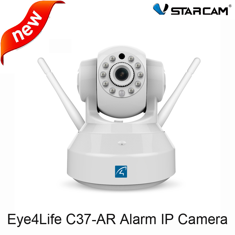 VStarcam HD Alarm Camera C37-AR Wireless Audio Recording Infrared add Door/PIR Sensor Security Alarm System IP Camera Wifi