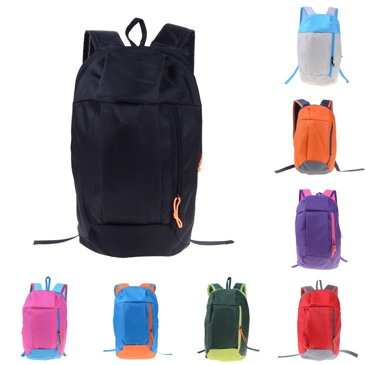 Nylon Backpacks Rucksack Travel Hiking Lightweight Unisex for 9-Colors Satchel Soft-Handle