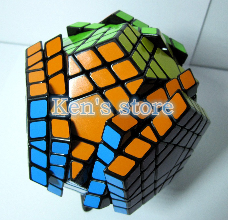 2016 New Shengshou SHS Megaminx Magic Cube Professional 5x5x5 PVC & - ფაზლები - ფოტო 3