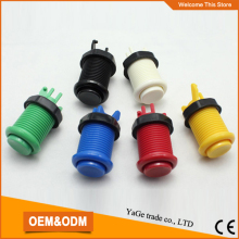 High quality plastic push button with micro switch, American push button switch