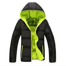 Free Shipping 2017 Men Winter Casual New Hooded Thick Padded Jacket Zipper Slim Men And Women Coats Men Parka Outwear Warm