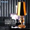 Настольная лампа современный европейский стиль полноценно Eyeshield настольная лампа для главная спальня cалон украшения ночники