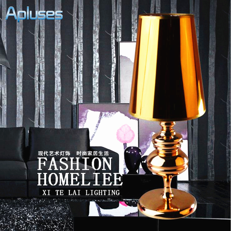 ФОТО Table Lamp Modern European Style Gold High Grade Eyeshield Desk Lamp For Home Bedroom Living Room Decoration Bedside Lamp