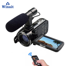 "Digital Video Camera full hd 1080P HDV-Z20 WIFI Professional Video Camcorder with 3.0""touch screen 16x digital zoom"