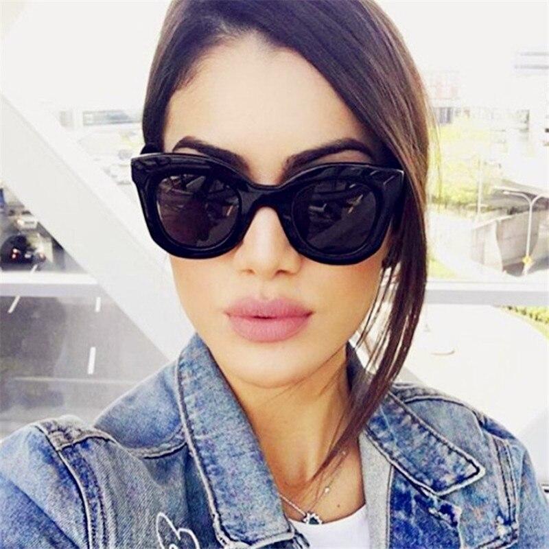 100% Wahr Vorhang 2019 Mode Design Cat Eye Sonnenbrille Frauen Sonnenbrille Spiegel Gradienten Objektiv Retro Gafas Brillen Oculos De Sol Uv400