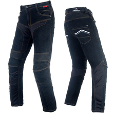 BENKIA Men Motorcycle Racing Denim Pants Protective Moto Jeans Pantalon Motocross Pants