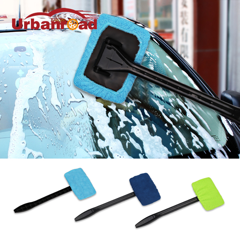 Windshield Easy Cleaner Clean Microfiber Auto Window Cleaner Clean Hard-To-Reach Windows Cleaning Tool Car Wash 3 Colors