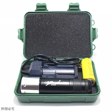 Underwater LED Diving Flashlight Waterproof XM-L T6 Aluminum Body Torch Light Lamp AAA/18650/26650 Battery Operated 3 Mode Hand