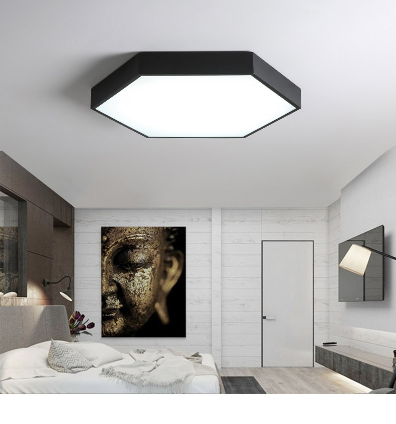 DX Ultra-Thin Hexagon Ceiling Lights (14)