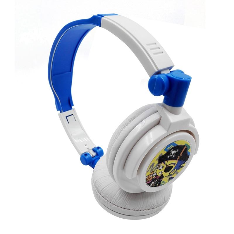 Anak fon kepala Hisonic kanak-kanak lelaki dan fon kepala gadis Berwayar Headband Headset Fon telinga Cartoon Untuk Kanak-kanak fon telinga yang indah Cute