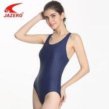 JAZERO 2018 One Piece Swimsuit Women Sexy Professional Sports Backless Body Suits Triangular Swimwear Bathing Suit