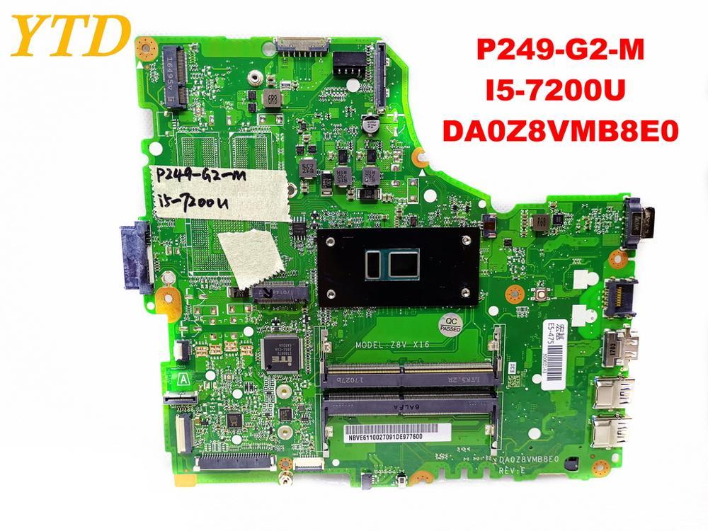 Original for font b ACER b font P249 G2 M laptop motherboard P249 G2 M I5