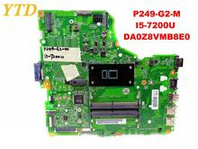 Original for ACER P249-G2-M laptop motherboard P249-G2-M I5-7200U DA0Z8VMB8E0 tested good free shipping