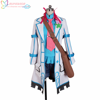 Clockwork Planet Marie Bell Breguet Shirt Coat Uniform Suit Cosplay Costume ,Perfect Custom For you! image
