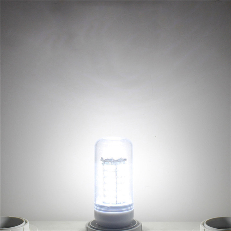 Купить с кэшбэком E27 LED Lamp E14 LED Bulb SMD5730 110-240V Corn Bulb 120LEDs Chandelier Candle LED Light For Home Decoration Ampoule