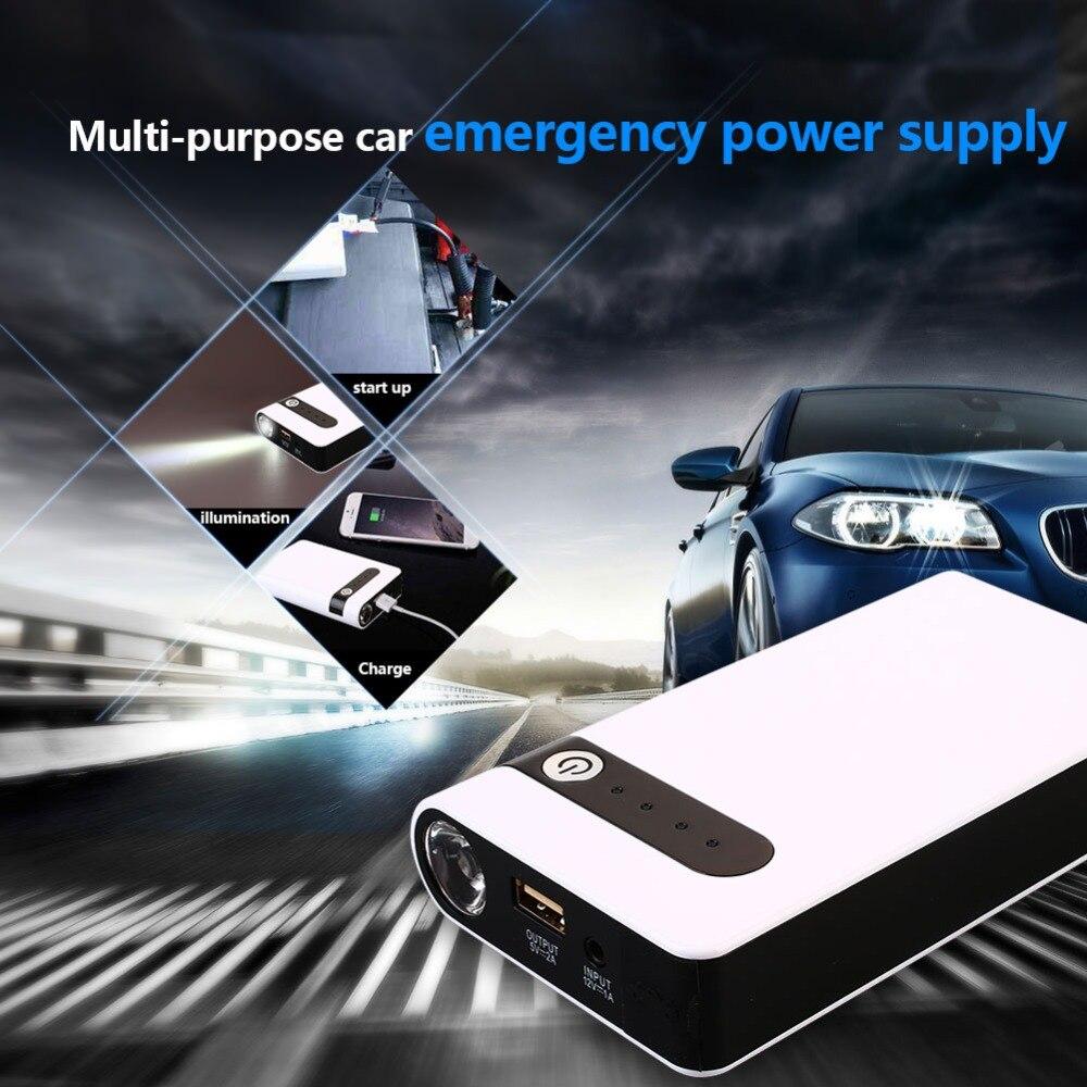 Vehemo USB Car Jump Starter Kit Power Bank Jump Starter Kit Portable Power Kit Charger Booster