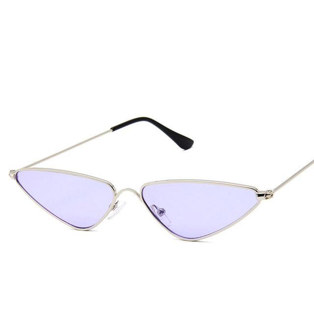 Women Small Cat Eye Sunglasses Retro Cool Sexy Triangle Sunglass Female Fashion Ocean Film Cateyes Sun Glasses UV400