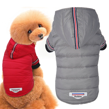 Waterproof Dog Jacket with Hoodie Ideal for Small and Medium Dogs as Dog Clothing