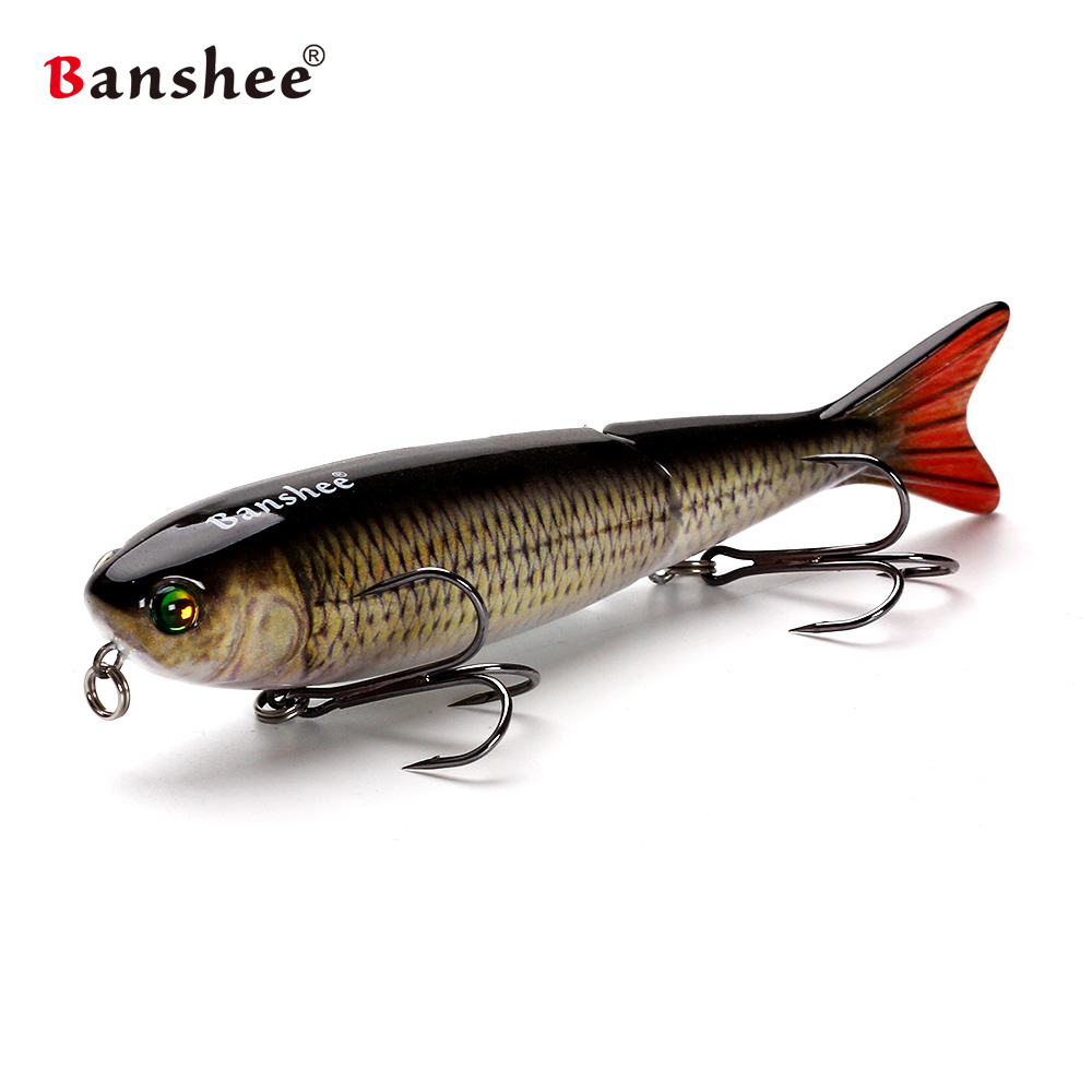 Floating Fishing Lure Bass Pike lure Trout Multi Jointed Wobblers Swimbait ATJ01 isca artificial bait peche Leurre pesca Souple banshee 127mm 21g nexus voodoo atj01 swimbait two sction multi jointed topwater walk dog stickbait floating pencil