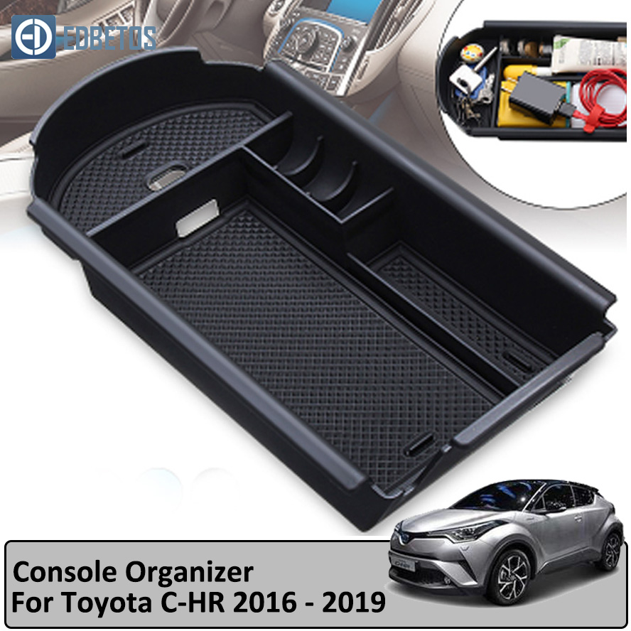 C HR CHR car styling Auto Car Accessories Interior Car Center Armrest Storage Glove font b