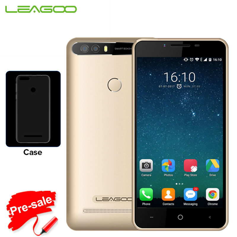 LEAGOO KIICAA POWER Smartphone Android 7.0 MTK6580A Quad Core 5.0 HD 2G + 16G 8.0 MP Dual Rear Cameras Fingerprint ID CellPhone