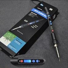 220V Digital LCD Electric Soldering Iron 90W Soldeerbout Adjustable Temperature Solder Iron