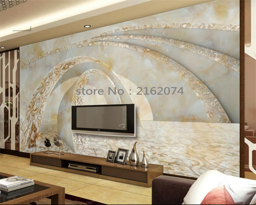 Beibehang Wallpaper For Walls 3 D Marble 3D TV Sofa Background Wall Murals Modern Home Decoration Wallpaper Papel De Parede
