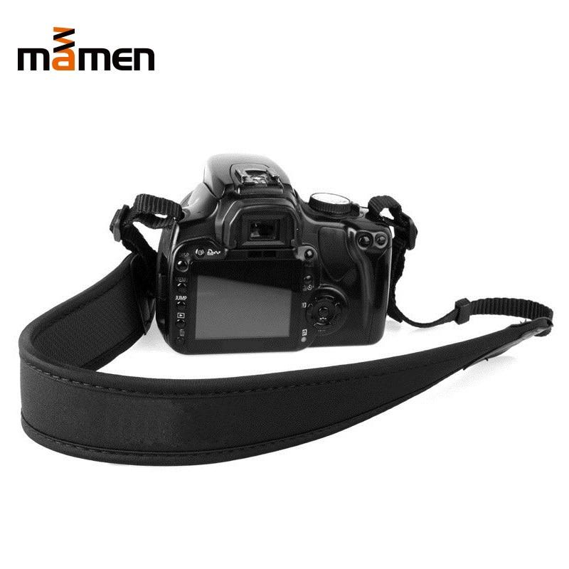 調整可能なナイロンカメラストラップ弾性滑り止めブラックショルダーベルトネックストラップソニー/ニコン一眼レフカメラ用ストラップストラップアクセサリーcorrea para camara reflex