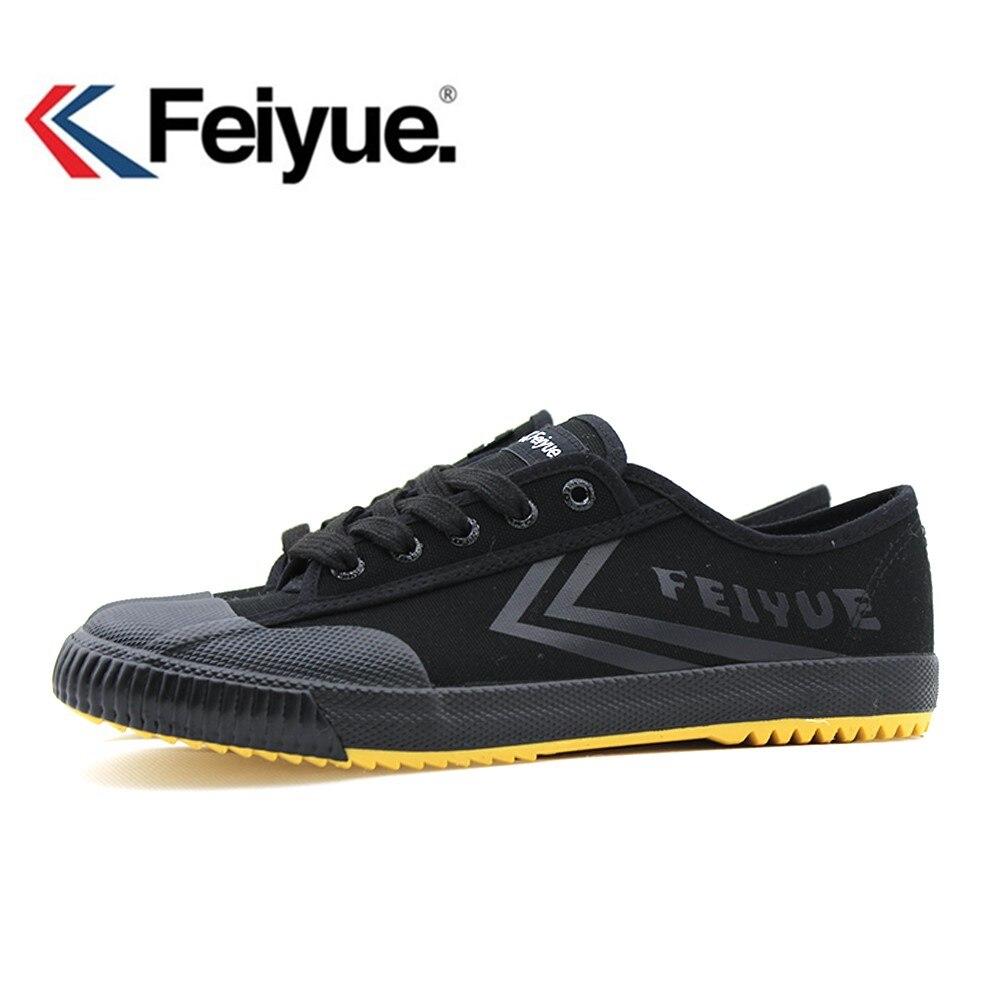 Feiyue chaussures 1920' nouveau Noir Kungfu Chaussures Vintage Nouvelle Amélioration, Arts martiaux Chaussures, hommes Femmes Sneakers Wushu Chaussures