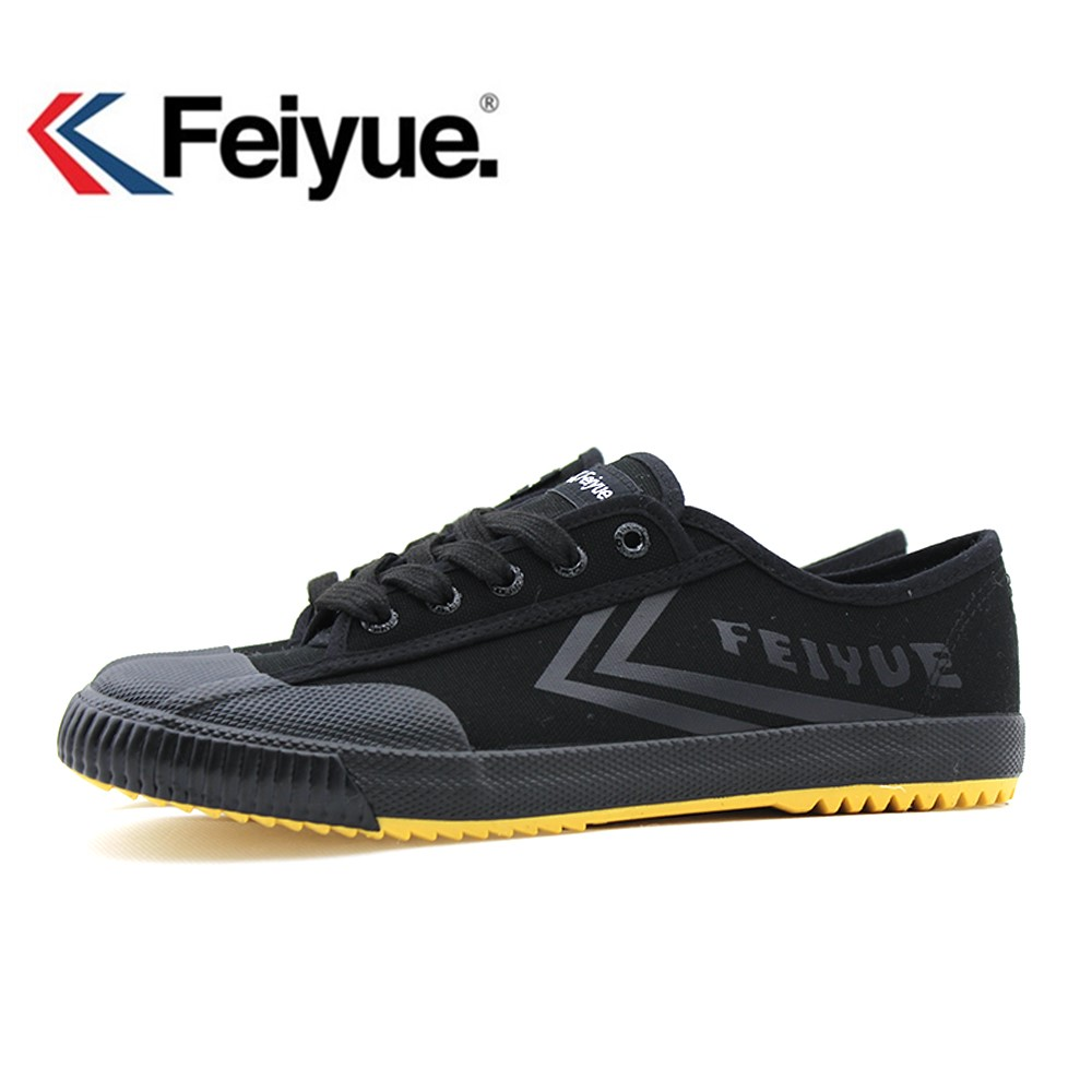 Feiyue shoes 1920' new Black Kungfu Shoes Vintage New Improved, Martial Arts Shoes, Men Women Sneakers Wushu Shoes-in Skateboarding from Sports & Entertainment