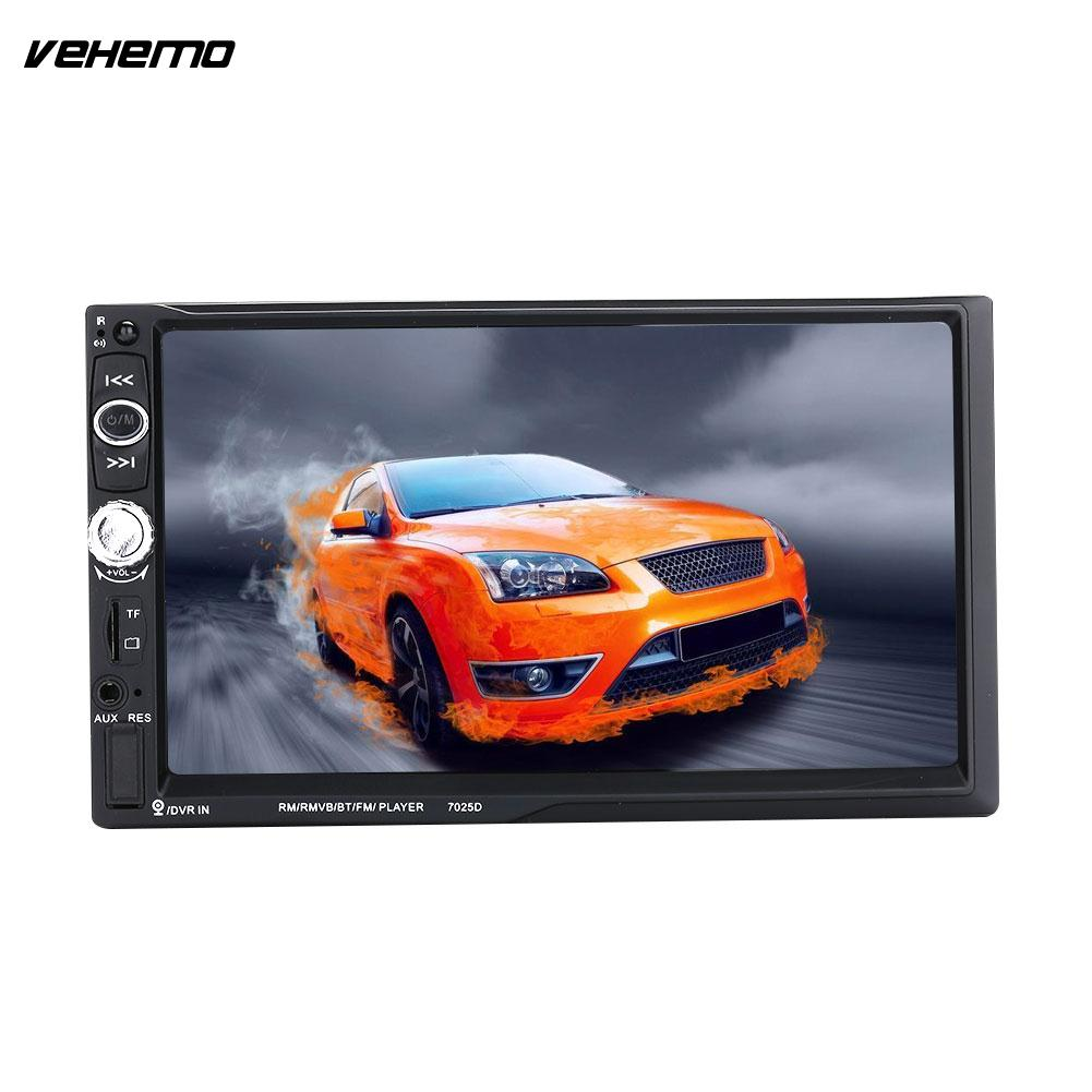 Vehemo 7025D Car MP5 Multimedia Player Car Electronics Video Player Universal Audio Player vehemo gps navigation function audio car mp5 player mp5 video player flexible multimedia player automobile