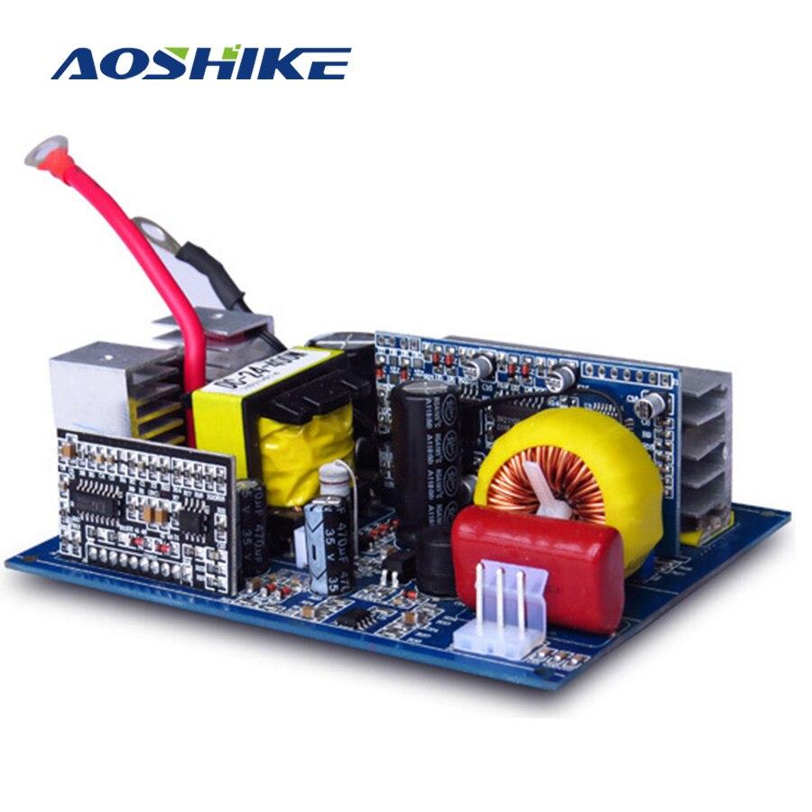 AOSHIKE 1Pc Inverter 12v 220v DC 12V To AC 220V 300W Pure Sine Wave Inverter Board Inversor For Car Home