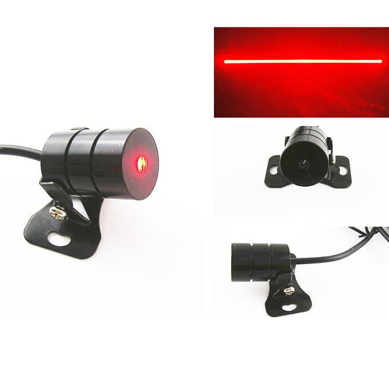 Car Laser Fog Light Driving Safety Signal motorcycle Warning Lamp Rearing Lights External Car Styling Source Red Color Light