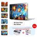 Природа Масляной Живописи Прозрачный Кристалл Для Apple Mac Macbook Pro 15 Крышка случая Macbook Pro 13 15 Дюймов С Retina Display A1502